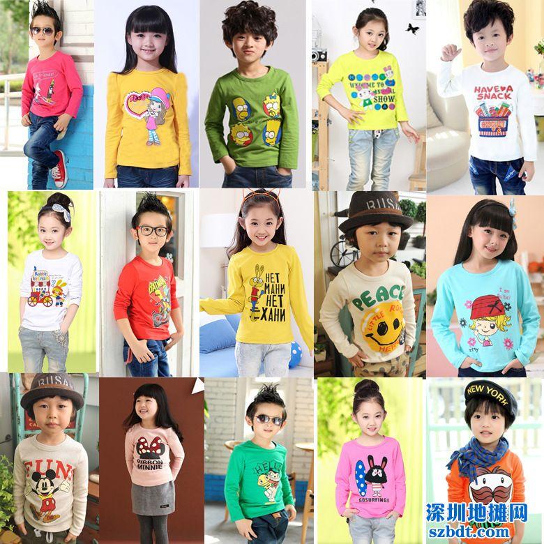 春季童装T恤