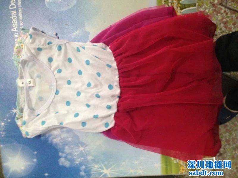 中小童雪纺裙