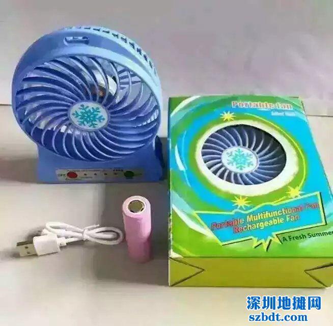 迷你小风扇带USB接口线夏季热销商品