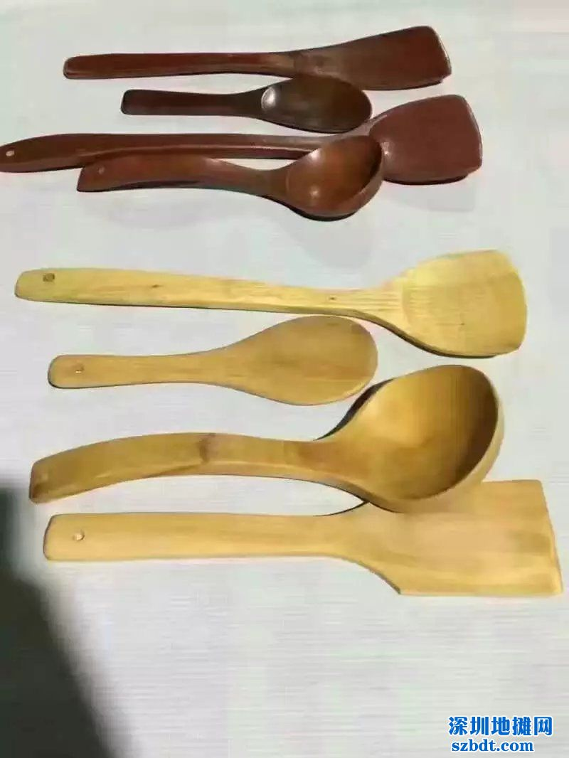 楠木餐具四件套