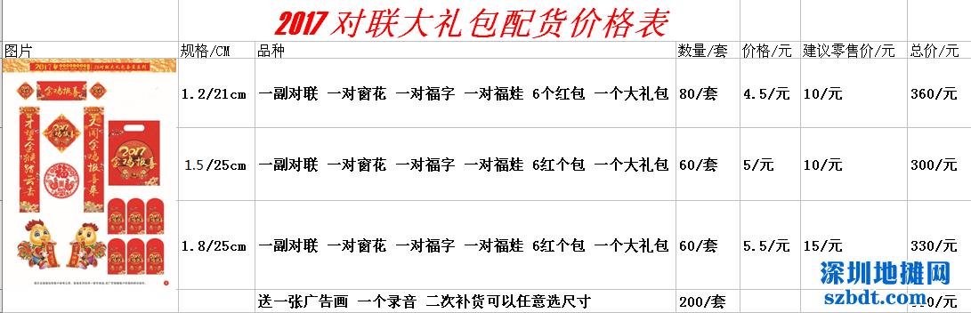2016年春联/对联批发